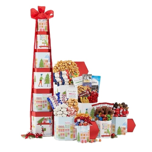 Colossal Holiday Tower of Gourmet Delights