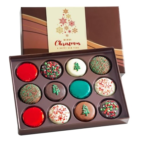 Happy Holidays 12 Oreo Chocolates Gift Pack