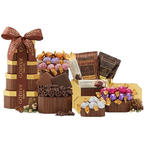 Lip Smacking Godiva Selection Gift Tower