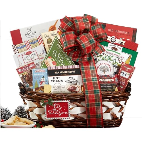 Sensational Crowd Pleasing Holiday Gift Basket