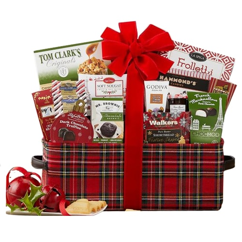 Traditional Christmas Special Chocolaty Basket