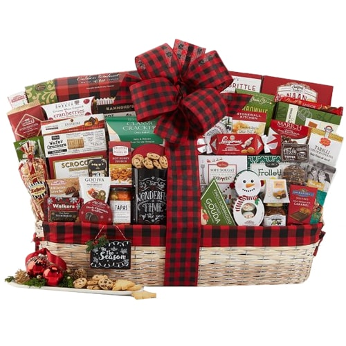 Premium Gourmet Gift basket for Christmas