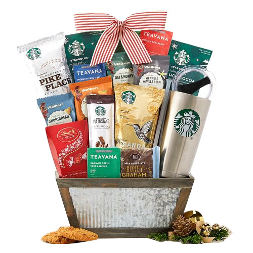Amazing Gift Basket of Starducks Assortments