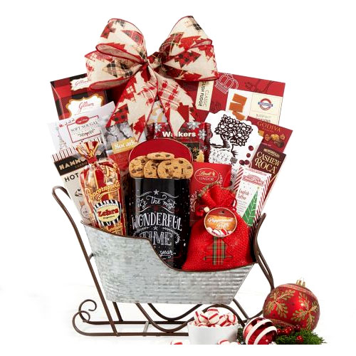 Perfect Sleigh Hamper for Chocolate Lover