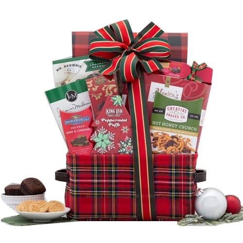 Delicious Cookie and Chocolate Connoisseur Gift Basket