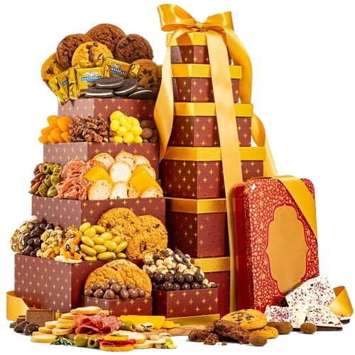 Delectable Cookies Treasure Gift Tower
