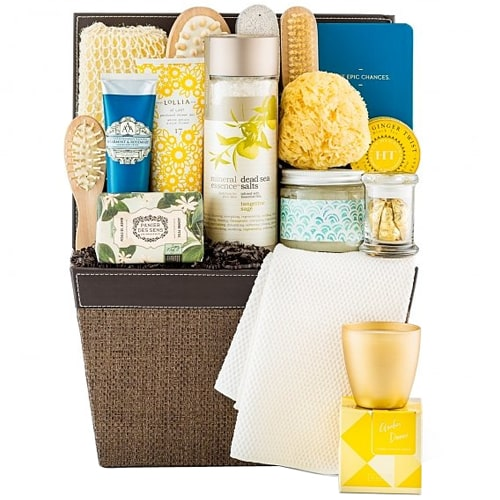 Luxury Bath and Body Essentials Spa Hamper