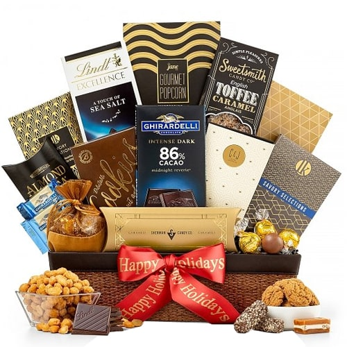 Epicurean Confections Gourmet Gift Basket