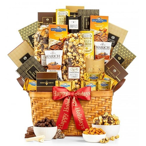 Ecstatic Chocolate Abundance Gift Basket