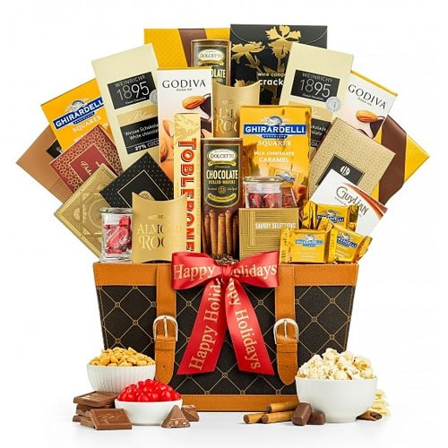 Remarkable Christmas Bonanza Gift Basket