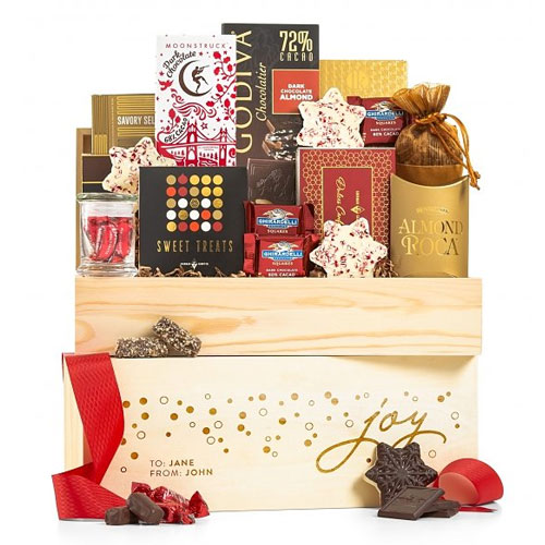 Holiday Joy Chocolate Crate