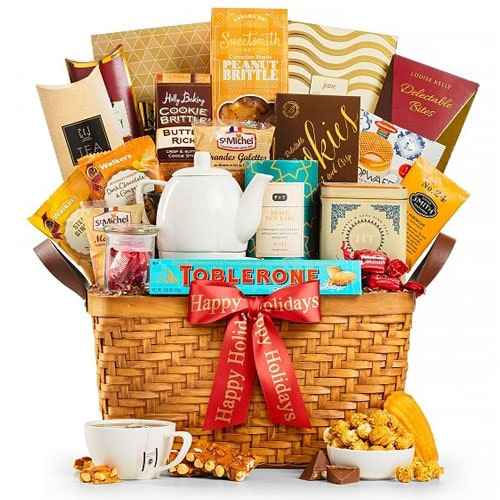 Perfect Tea Time Experience Gift Basket