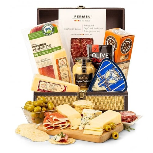 Perfect Savory Indulgence Gift Basket