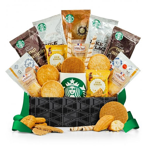 Exclusive Coffee N Cookie Pairing Gift Basket
