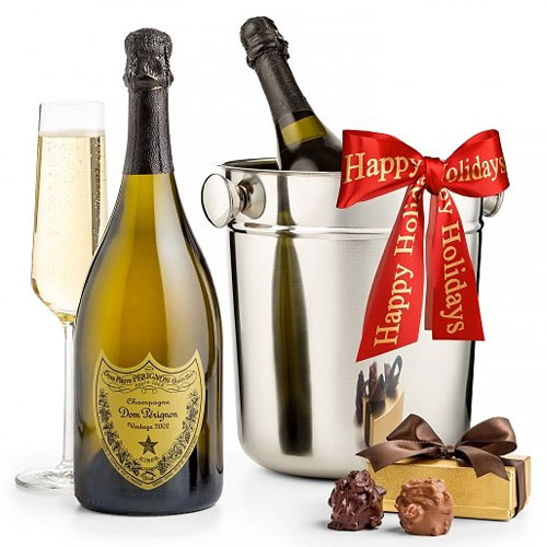 Duel Selection of Renowned Champagne with Chiller Pairings