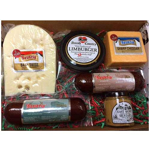 Christmas Celebration Cheesy Gourmet Gift Hamper