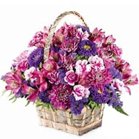 Eye-Catching Meadow Basket