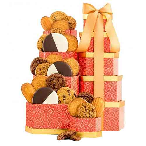 Crunch N Munch Cookie Tower for X-mas Celebration