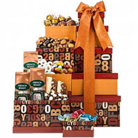Coffee Companion Gourmet Gift Tower
