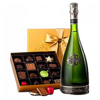 Captivating Chocolate and Wine Hamper