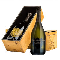 Slightly Candied Engraved Dom Perignon Champagne Celebration