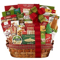 Incredibly Smart Holiday Delight Gift Basket<br>