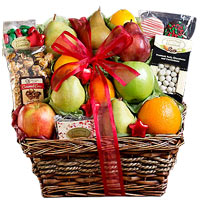 Sweet Christmas Basket Gift Hamper<br>