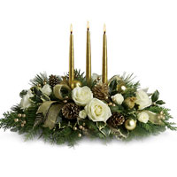 Dramatic Royal Christmas Centerpiece DX