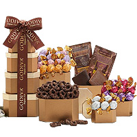 Glorious Four Seasons Godiva Gift Tower