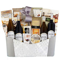 Mesmerizing Grand Celebration with Wine N Gourmet Gift Hamper
