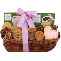 Mother's Day Cookie and Brownie Collection Gift Basket