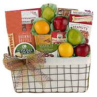 Wholesome Harvest Fruit Selection Gift Basket