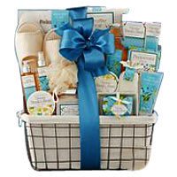 Vanilla Bliss Spa Experience Gift Basket