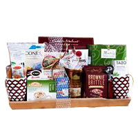 Mother's Day Coffee, Tea and Cocoa Collection Gift Basket