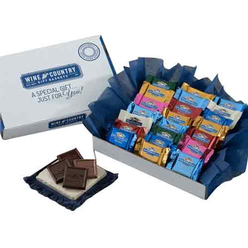 Savory Xmas Hamper of Ghirardelli Chocolaty Assortments