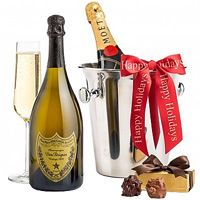 Fabulous Collection of Champagne  n  Chocolates