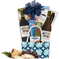 Fruit-Filled Afternoon Delight Gift Hamper of Goodies<br>