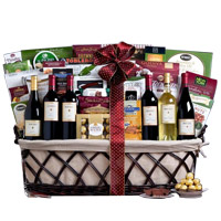 Luscious Delicacies from Countryside Gift Basket <br>