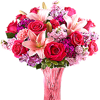 Lovely Smile Flower Arrangement