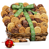 Thrilling Evening Entertainer Cookies N Brownies Basket<br>
