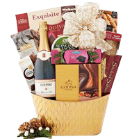 Houdini Blanc de Noir Champagne Collection Gift Basket
