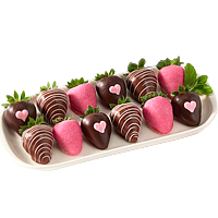 Valentines Chocolate Dipped Strawberries
