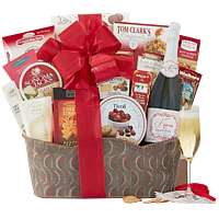 Kiarna California Champagne Assortment Gift Basket