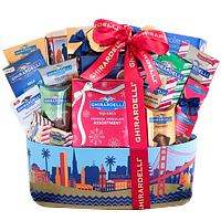 Ghirardelli San Francisco Chocolate Collection Gift Basket
