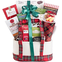 Lavish Grandeur Fiesta Tea and Cookies Gift Basket