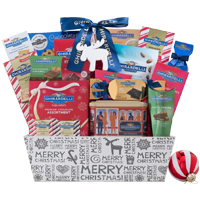 Graceful Gift Basket of Ghirardelli Assortments