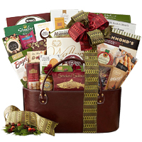 Delicate Healthy Munchies Gourmet Basket