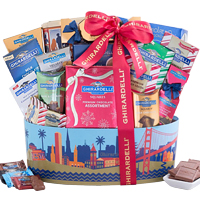 Yummy Love You More Ghirardelli Chocolate Gift Hamper