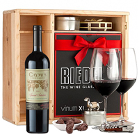 Luscious Celebration Time Deluxe Wine Gift Set