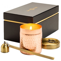 Lovely Hand Poured Copper Candle Gift Set